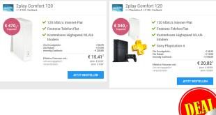 Internet zu Hause mit 120 Mbit/s für nur eff. 15,41€ mtl.