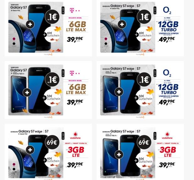 Samsung Herbststars mit bis zu 150€ Gutschein