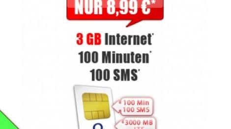 Smart Light 3 GB LTE 8,99€ mtl.