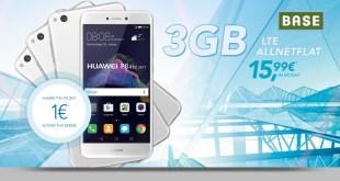 Huawei P8 lite + 3GB LTE + Allnet nur 15,99€ mtl.