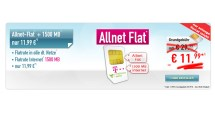 Telekom Allnet-Flat + 1500 MB nur 11,99€ mtl.