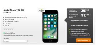 Ay Yildiz Ay Allnet Max 6GB + iPhone 7 nur 39,99€ mtl.