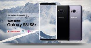 Galaxy S8+ mit Allnet und 2GB LTE nur 39,99€ mtl.