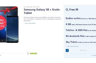 Galaxy S8 + Tablet mit 4GB LTE und Allnet nur 49,99€ mtl.