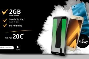 Congstar Aktionen im Telekom Netz für 20 Euro mtl.