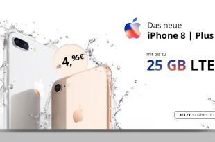 iPhone 8 mit Vertrag ab 4,95€ Zuzahlung