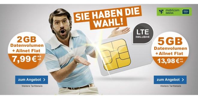 5GB LTE mit Allnet und EU nur 13,98€ mtl.