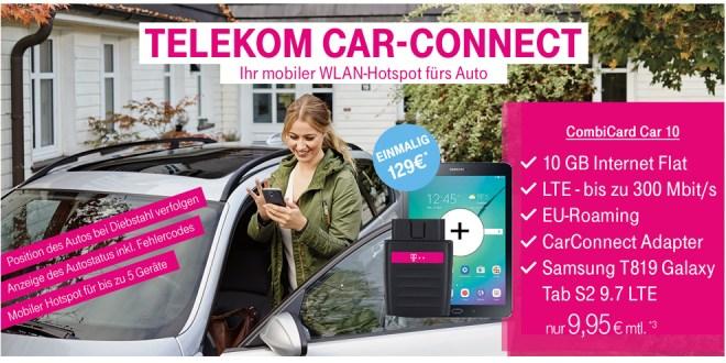 Telekom Car Connect mit 10GB LTE nur 9,95€ mtl.