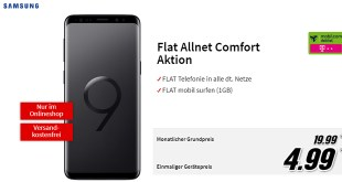 Galaxy S9 und Tablet mit Allnet nur 19,99€ mtl.