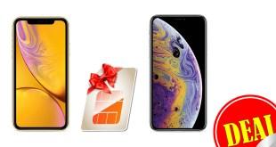 iPhone XR / iPhone XS mit 11GB LTE nur 46,99€ mtl.