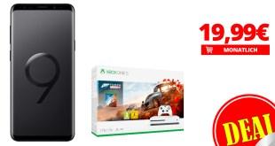 Galaxy S9+ mit Xbox One S nur 19,99€