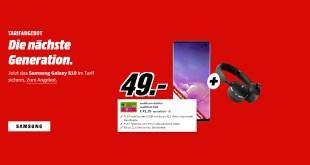 Galaxy S10 + 8 GB Internet + Zugabe nur 41,99€