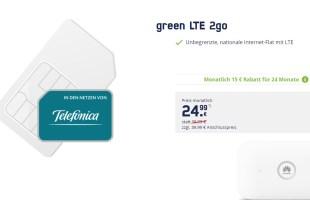 LTE unlimited + WiFi-Hotspot nur 24,99€