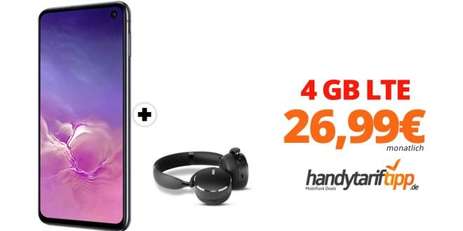 Galaxy S10e & AKG Y500 mit 4 GB LTE nur 26,99€