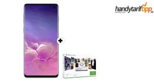 Galaxy S10 & Xbox mit 8 GB LTE Telekom Netz nur 36,95€