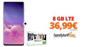 Galaxy S10 mit Xbox und 8 GB LTE nur 36,99€
