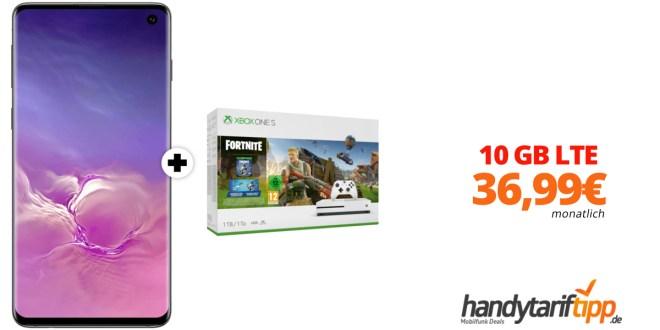 Galaxy S10 & Xbox mit 10 GB LTE nur 36,99€