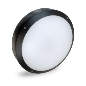 HANECO DAWN LED BUNKER LIGHT 20W ROUND Ø270MM TRITONE BLACK