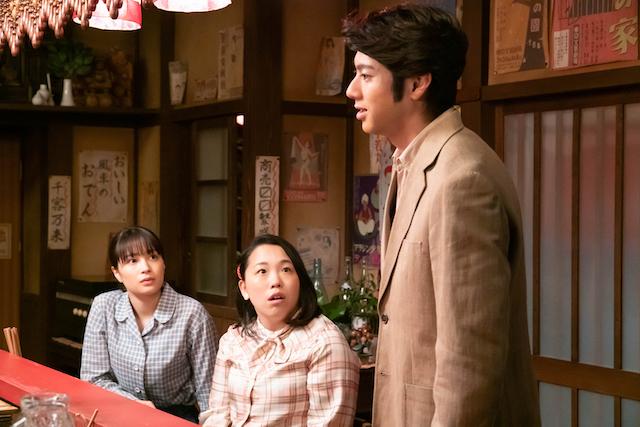 雪次郎、蘭子との話を打ち明ける