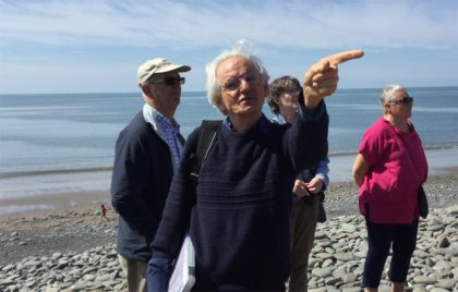 Michael Freeman explains about the interesting Archaeology found in Llanrhystud