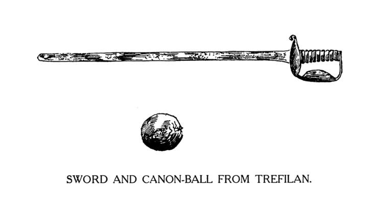 Cleddyf a Cannon-Ball o Drefilan