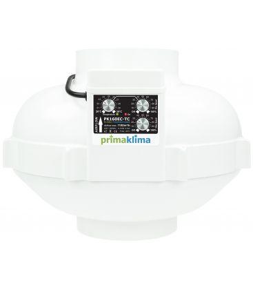 Prima Klima Ventilator Temp./ Speed Controlled 160mm