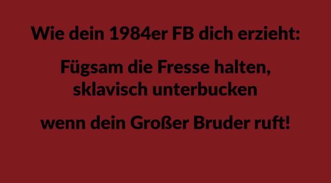 1984er FB – Großer Bruder mit Persilschein