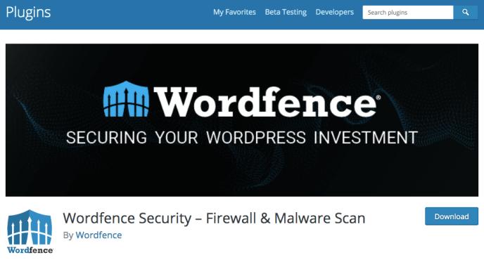 Wordfence Plugin