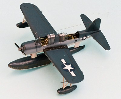 The Kingfisher doubled as an observation/scout and at times, rescue aircraft during WWII.