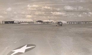 Garner Field Airport, 1942