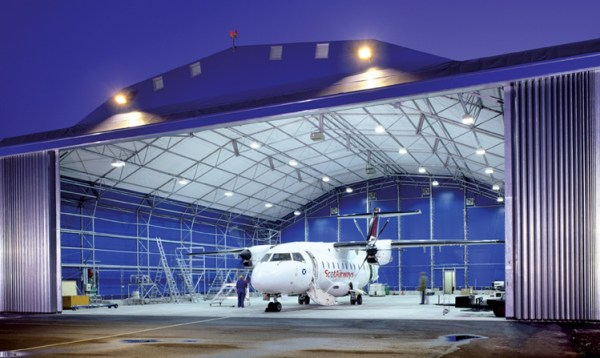 Aircraft Hangar Light Levels