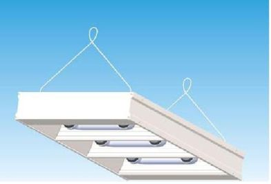 Induction High Bay Low Profile 3 Lamp