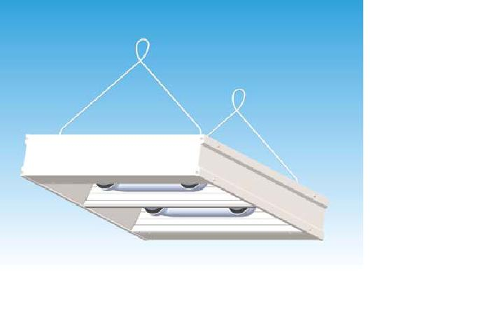 Induction High Bay Low Profile 2 Lamp