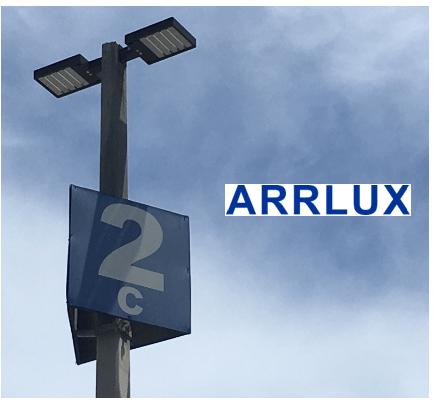 Airport high mast area lighting