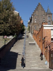 Montagne de Bueren - stairs - Liege