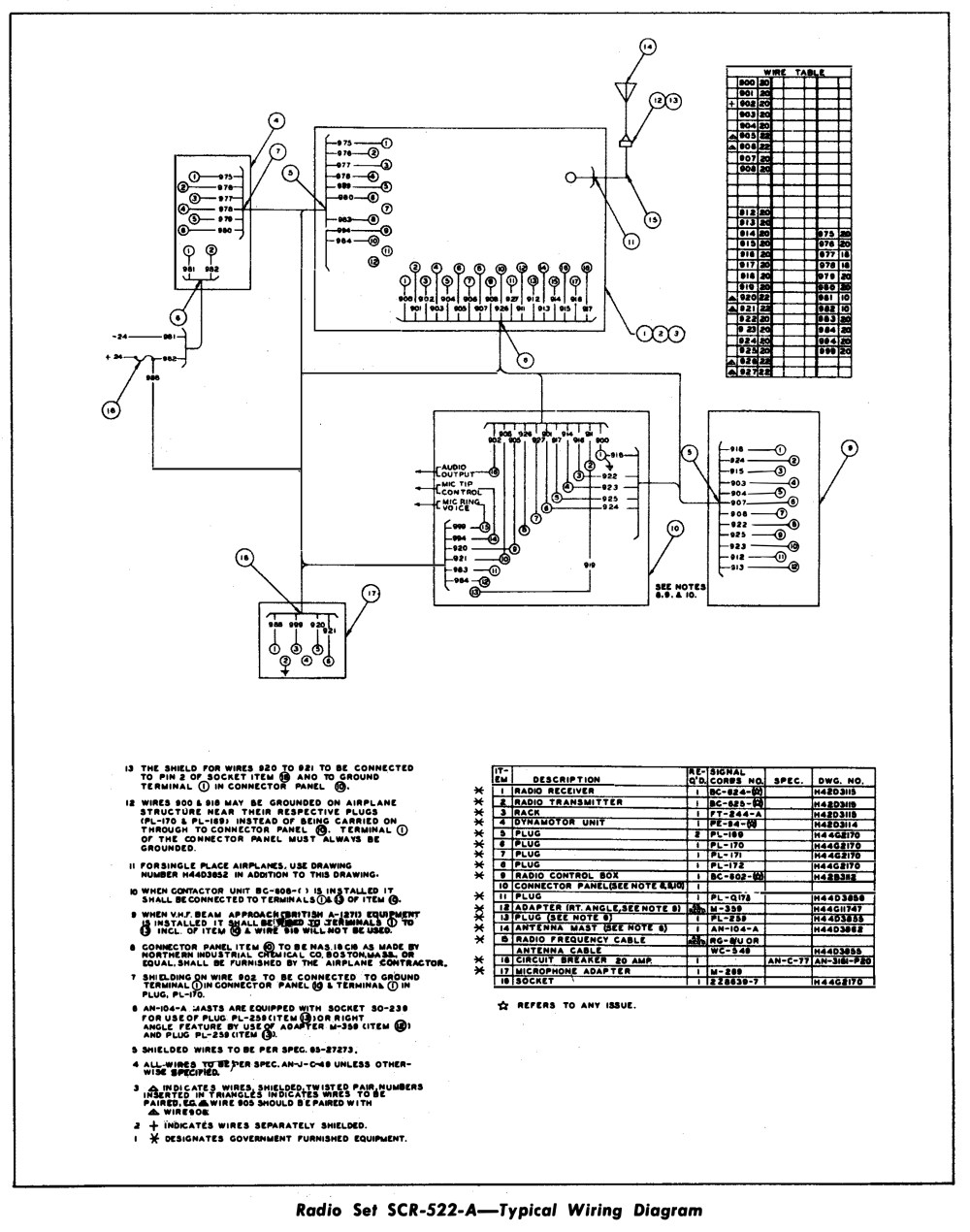 medium resolution of click here to see lucky thirteen s vhf radio wiring diagram
