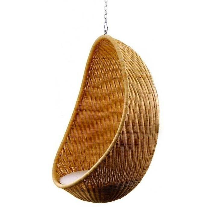 Hanging Egg Chair by Nanna Ditzel