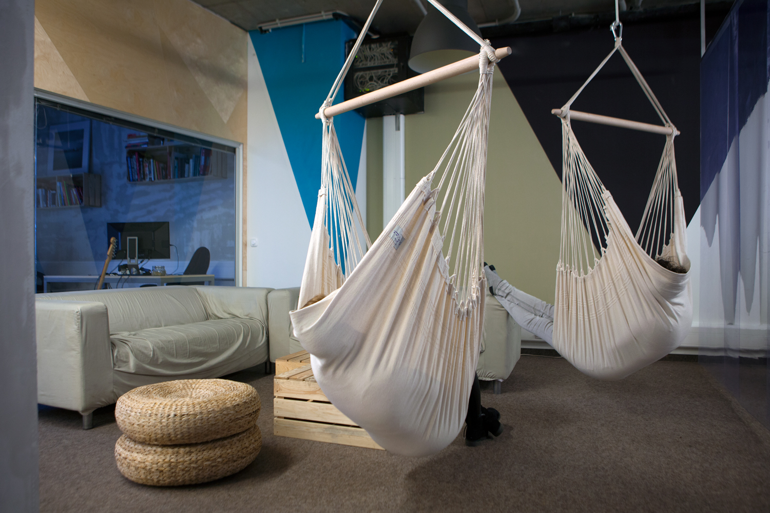 Room Swing Chair 7 Reasons Why To Hang A Hammock Chair Indoors