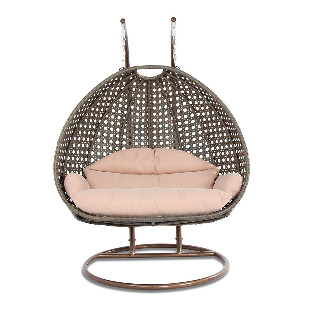 Swinging Chair Review Luxury 2 Person Wicker Swing Chair With Stand