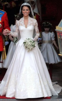Duchess of Cambridge's wedding dress, RSN studio
