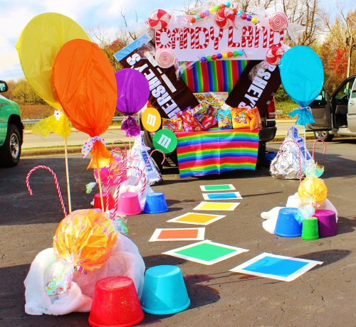 Trunk or treat candyland