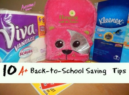 10 A+ Back to School Saving Tips