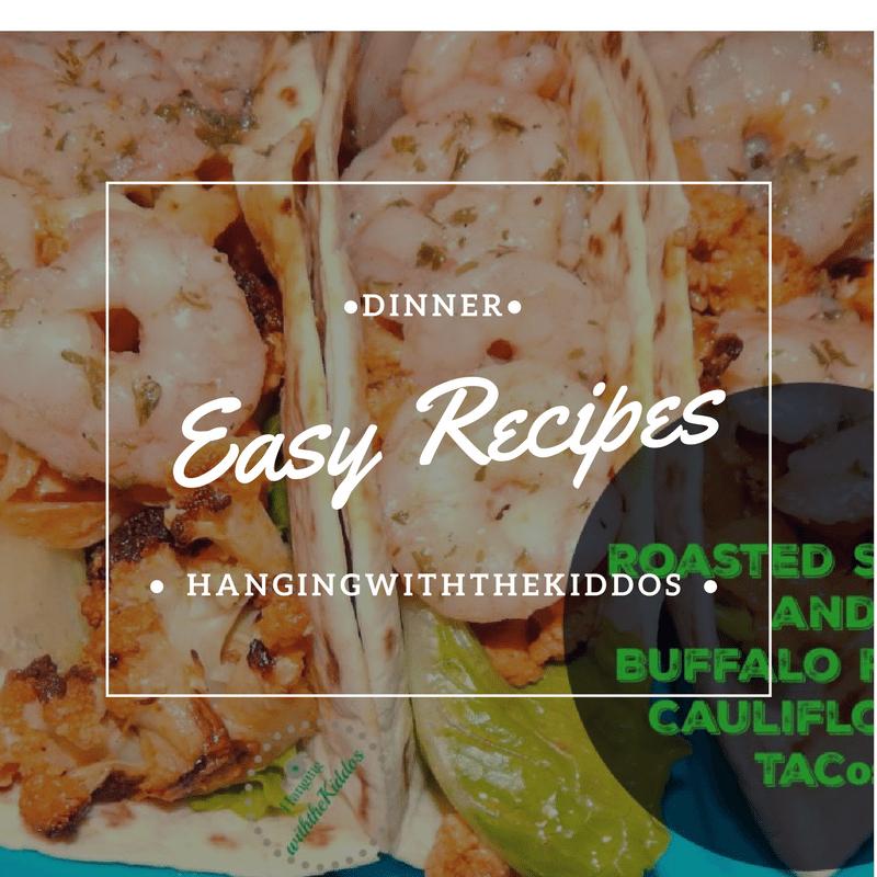 Buffalo Shrimp Cauliflower Tacos