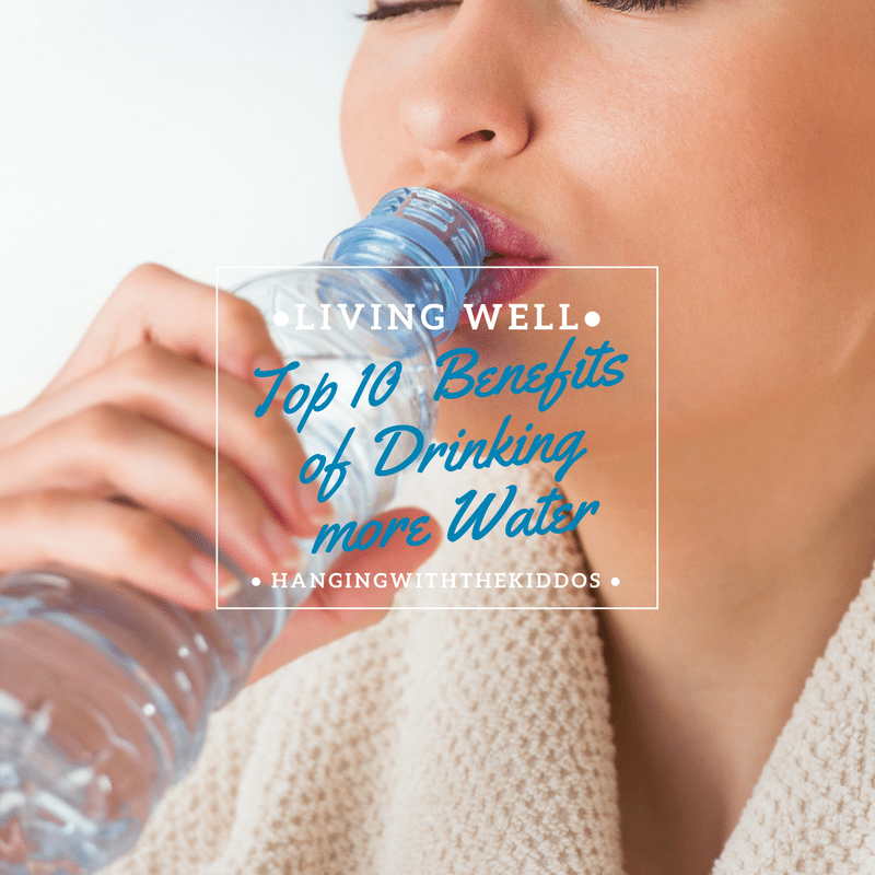 Amazing Top 10 Benefits Of Drinking Water