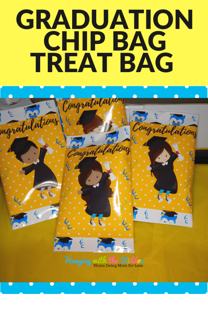 How to Assemble: Graduation Chip Bag|Treat Bag