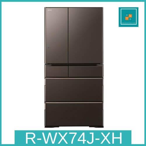 Tủ lạnh Hitachi R-WX74J-XH