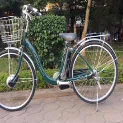 Xe đạp điện mini Nhật bãi Sanyo Neo Standards