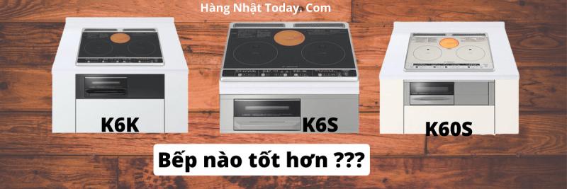 Đánh giá bếp từ Hitachi HT-K6K HT-K6S và HT-K60S