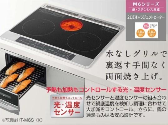 Cấu tạo bếp từ Hitachi HT-M6K