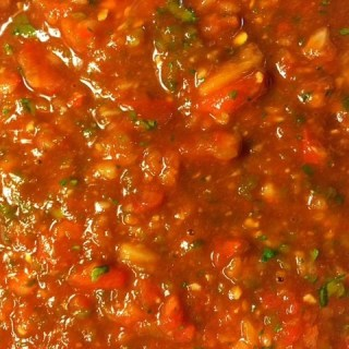 Homemade Mexican Restaurant Style Salsa